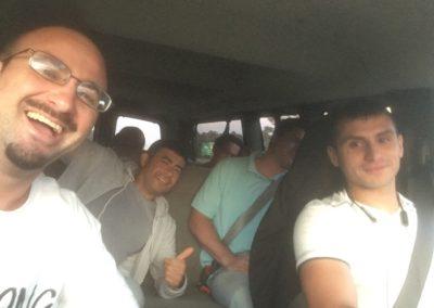 Guys in the Van