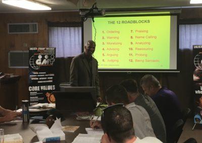 Dr Bruce Teaching